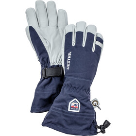 Hestra Army Leather Heli Ski 5 Finger Handschuhe navy